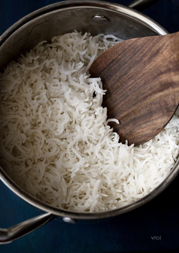 how-to-basmati-cook-rice-in-a-pan نحوه پختن برنج