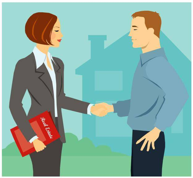 real-estate-transaction-from-clipart روش های فروش