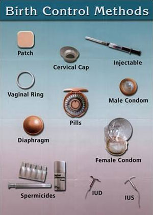 comparison-of-birth-control-methods روش هاي ضد بارداري