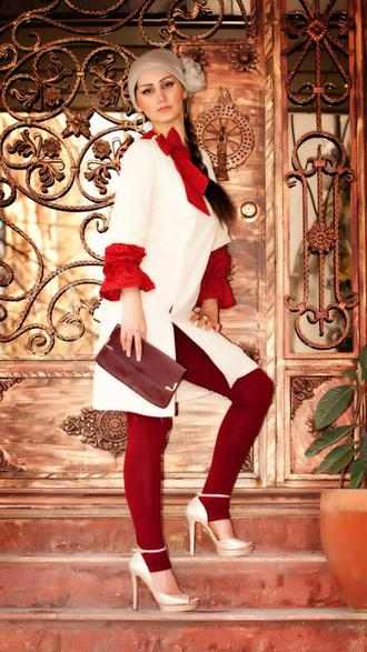 1369926370.Manto-Model-Female-Beautiful-Pants-مدل-مانتوهای-جدید-زیبا-با-شلوار-چسب-بسیار-شیک-و-خیره-کننده-10 زیباترین مانتو جهان