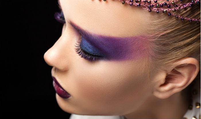 Ultra-violet-makeup سال ۹۷ چه رنگی مد است؟