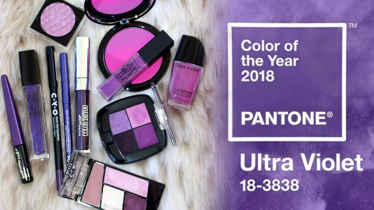 Ultra-violet-makeup2 سال ۹۷ چه رنگی مد است؟